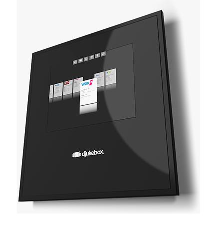 djukebox® - Das unglaubliche Musiksystem für den professionellen Einsatz.